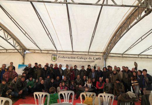 Máis de 40 participantes déronse cita esta fin de semana no XVII Campionato Galego de Cetrería