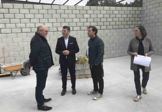 A Xunta investe 91.000 euros para construir a cuberta e almacén para o apoio da instalación do Punto Limpio do polígono industrial de Vimianzo