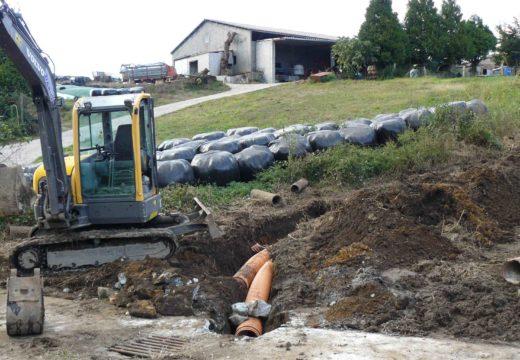 Comezan as obras de saneamento en Servia