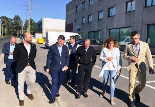 A Xunta inviste máis de 93.800 euros na mellora de infraestruturas viarias no Poligono de Río do Pozo en Narón