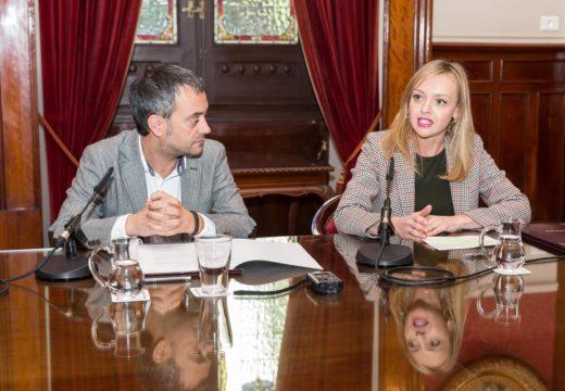 Fabiola García destaca a importancia do diálogo e a cooperación para avanzar na construción da nova residencia de maiores da Coruña