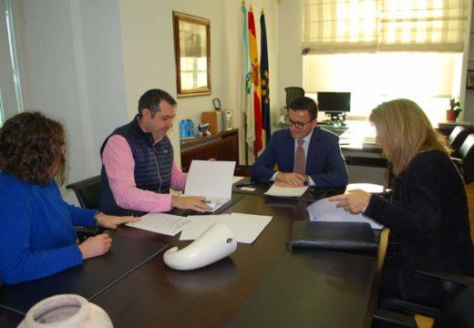 Reunión co conselleiro de Medio Rural para a posta en valor de diversas infraestruturas