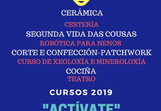 """O Concello de Lousame convoca """"Actívate"""", oito cursos formativos para adultos e nenos, que terán lugar de xaneiro a xuño"""