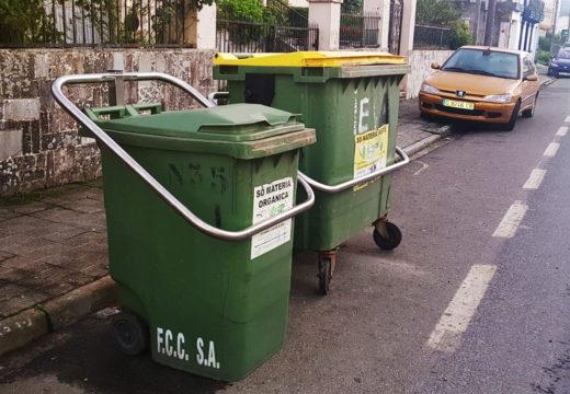O Concello de Noia instala na rúa Aldea Vista Fermosa as tres primeiras anclaxes de contedores de lixo no municipio