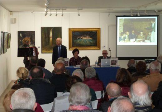 Brión acolle unha mostra de 26 cadros de Modesto Paz Camps relacionados co Val da Maía e a contorna de Compostela