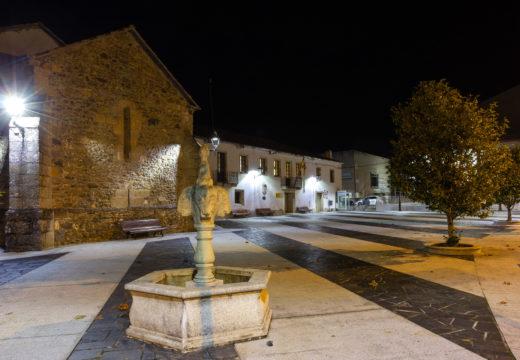 O convento do Rosario e os xardíns municipais de San Sadurniño estrean iluminación