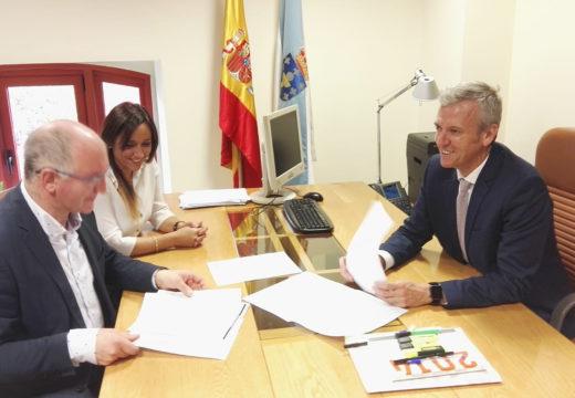 Santiago Freire proponlle ao vicepresidente Alfonso Rueda que incorpore a agrupación de Protección Civil de Noia ao reforzo do mapa de emerxencias da Xunta
