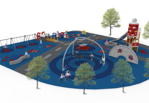 O Concello de Ordes iniciará esta semana as obras de construción do novo parque infantil cuberto