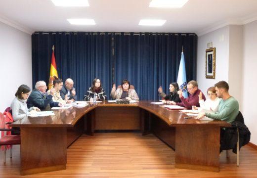 A corporación de Lousame aproba por unanimidade un manifesto institucional en favor da eliminación da violencia de xénero