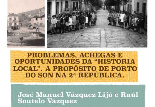 "Conferencia ""Problemas, achegas e oportunidades da Historia Local"""
