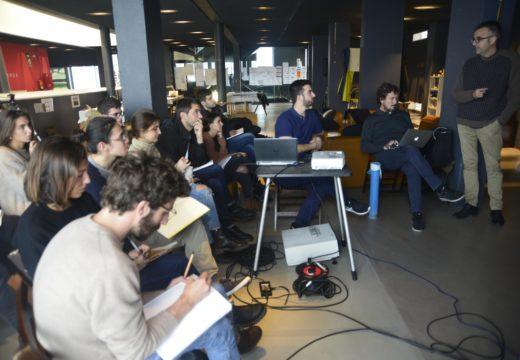 Profesores da Universidade de Barcelona explicaron a iniciativa 'arquitectos de cabeceira' no Workshop da Fundación RIA