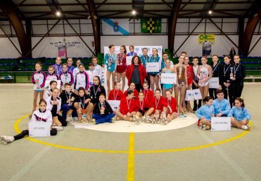 Grande acollida e participación no IV Trofeo de Patinaxe Artística Concello de Ordes