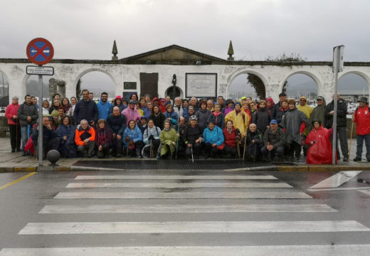 Completada a terceira etapado Camiño portugués pola costa