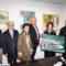 A familia de Modesto Paz Camps agasalla ao Concello de Brión cunha obra do pintor