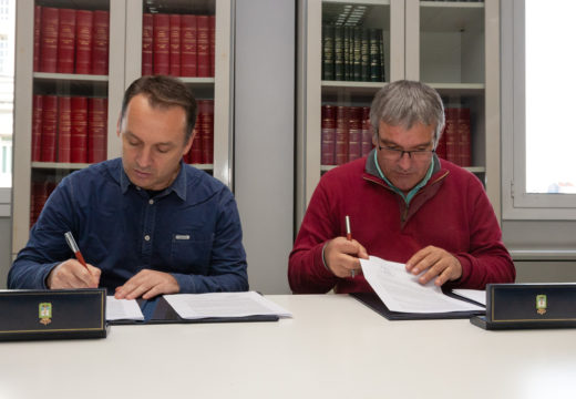 A Deputación da Coruña e o Concello de San Sadurniño asinan o convenio para novas actuacións no castelo de Naraío