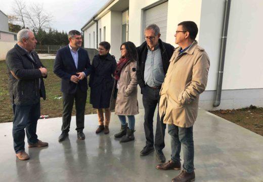 Ovidio Rodeiro visita o CEIP Monte Neme en Carballo onde educación acometeu unha ampliación cun investimento de 735.000€