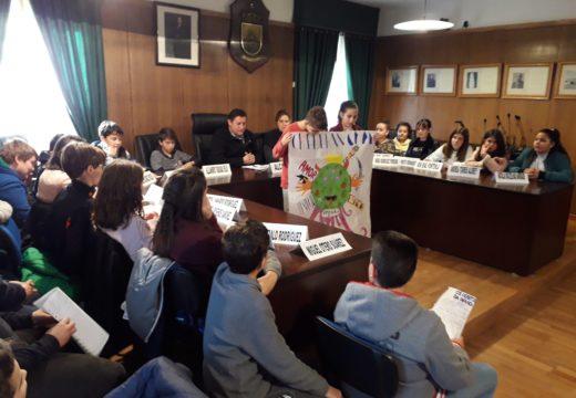 O Concello de Boqueixón organizou, por cuarto ano consecutivo, un Pleno Infantil coa participación de 50 cativos e cativas