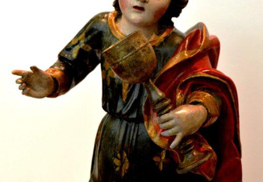 Restauración de escultura do século XVIII