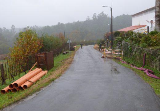 Comezan as obras para dotar de rede de saneamento e depuradora a Filgueira e Seixido, orzamentadas en máis de 113.000 €