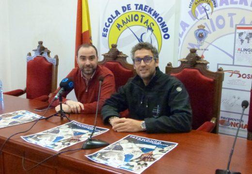 O Campionato Galego Absoluto de Combate reunirá a máis dun cento de taekwondistas este sábado 22 de decembro en Noia