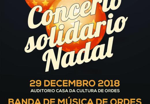 Concerto solidario de Nadal da Banda de Música de Ordes