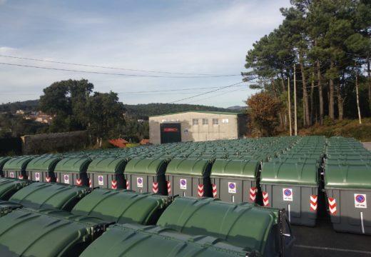 Comeza o proceso para dotar ao municipio de novos contedores para a recollida de lixo mediante camións de carga lateral