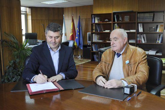 A Xunta inviste máis de 94.000 euros na mellora do abastecemento de auga no depósito de Grañas con cargo ao Fondo de Compensación Ambiental