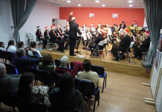 A Banda Xuvenil e a Banda de Música Isabel ll de Touro, protagonistas do Concerto de Nadal