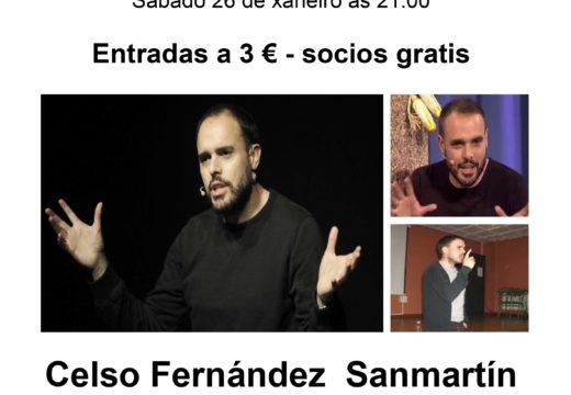 O local social de Lestedo acolle mañá os 'Contos na Lareira' de Celso Fernández Sanmartín