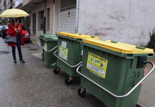 O Concello de Noia continúa co seu plan de instalación de anclaxes de contedores de lixo, ao que se achegan 20.000 euros
