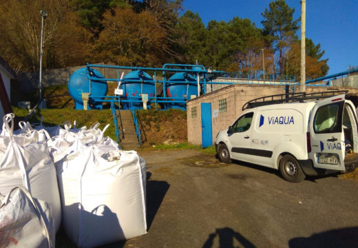 O Concello de Noia mellora o sistema de filtración da estación potabilizadora de auga