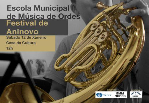 Concerto de aninovo da Escola Municipal de Música