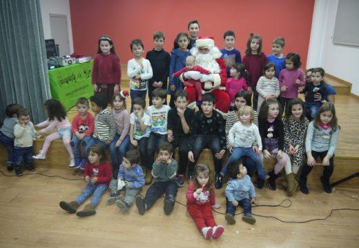 Papá Noel visita a Gran Festa de Nadal de Touro