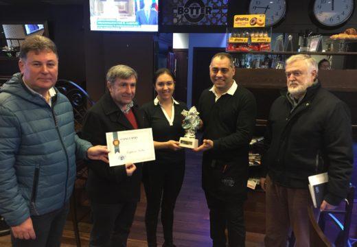 El Rincón del Chocolate e Botter, gañadores dos Concursos de Escaparatismo e Decoración Hostaleira de Nadal