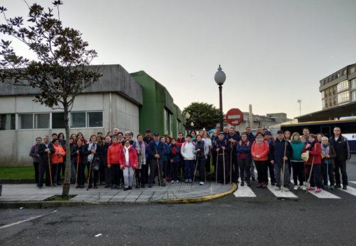 Un total de 61 veciños e veciñas de Frades rematan o Camiño de Santiago a Fisterra