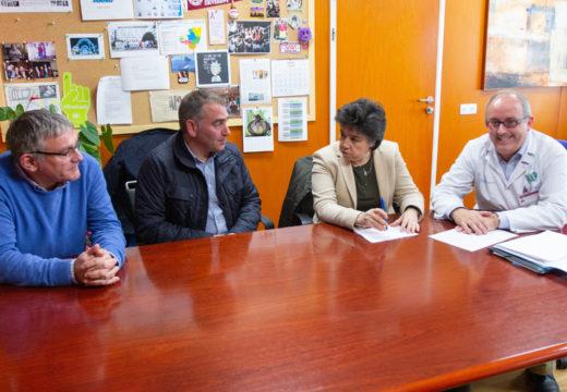 Cerdido, Moeche e San Sadurniño reúnense co Xerente da área sanitaria para falar sobre a situación da atención pediátrica