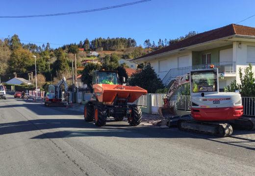 Comeza en San Sadurniño a segunda fase da remodelación da avenida Marqués de Figueroa