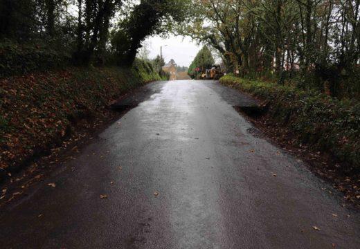 O Concello de Lousame inviste case 58.000 euros nas obras de mellora do camiño entre Cruído e Seoane