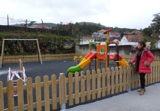 O Concello de Noia inviste 70.000 euros na construción dun novo parque infantil en Boa