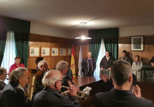 O Concello de Boqueixón celebra o día do seu patrón coa tradicional recepción á veciñanza