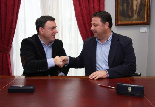 O Concello de Frades e a Deputación da Coruña investirán 72.000 euros na mellora dos polideportivos de Ponte Carreira e Abellá
