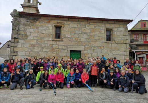 Redondela-Pontevedra, quinta etapa do Camiño Portugués pola costa