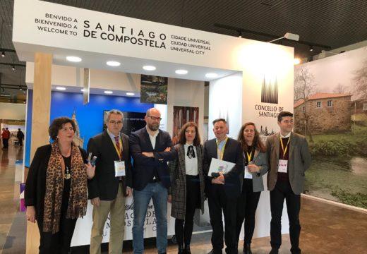 O alcalde e a concelleira de Turismo visita a terceira edición do Fairway