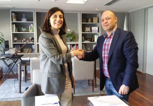 Medio Ambiente e Aranga colaboran na mellora e humanización do núcleo da Castellana