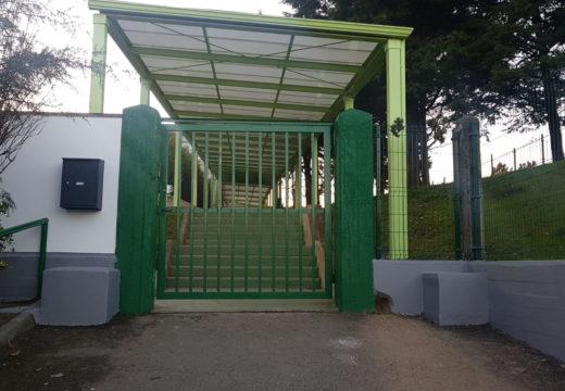 O Concello de Noia acomete diversas melloras no colexio da Barquiña e inicia a limpeza do exterior do IES Virxe do Mar