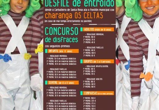 O Concello de Brión abre a inscrición no seu Concurso de Disfraces, que repartirá 2.750 € en premios e terá lugar o domingo 10 de marzo