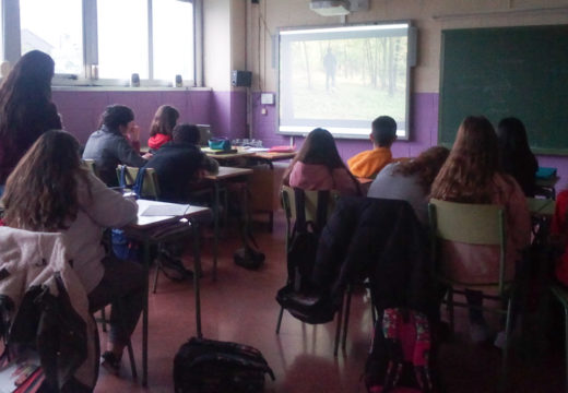 Alumnado do CPI de San Sadurniño participa no programa provincial «Suprime o control»