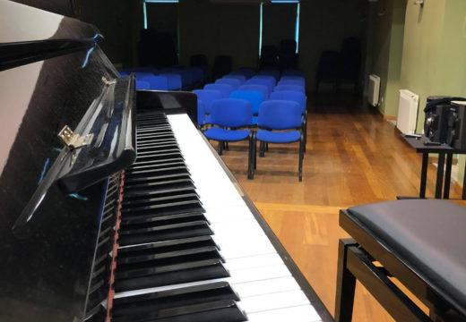 """O auditorio do centro social polivalente de Brión acolle mañá a primeira sesión do sexto ciclo """"Venres Musicais"""" da ESMU Magariños"""