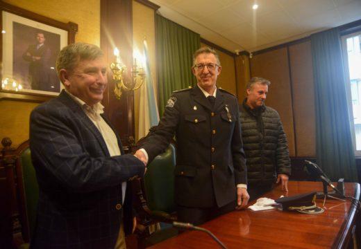 Xosé Manuel Bretal tomou posesión como novo xefe da Policía Local de Riveira