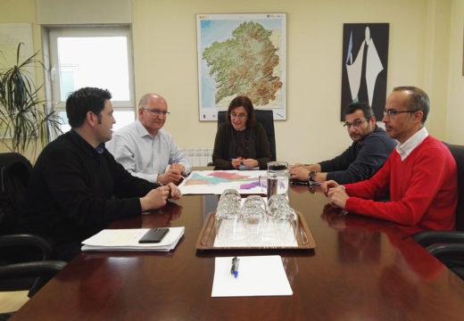 Concello e Augas de Galicia avanzan na legalización da captación de auga no río Vilacoba e no proxecto de mellora da ETAP de Noia